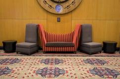 Silla moderna del sofá de los muebles Imagenes de archivo