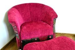 Silla moderna púrpura Fotografía de archivo