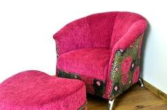 Silla moderna púrpura Imagen de archivo