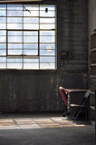Silla roja Fotografía de archivo libre de regalías