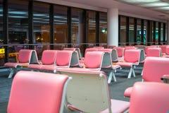 Silla rosada Foto de archivo