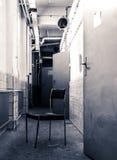 Silla sola imagen de archivo