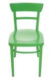 Silla verde Imagen de archivo libre de regalías