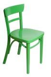 Silla verde Imagenes de archivo