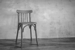 Silla vieja Fotografía de archivo libre de regalías