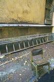 Silla vieja Imagen de archivo
