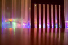 Silla y luces Imagen de archivo