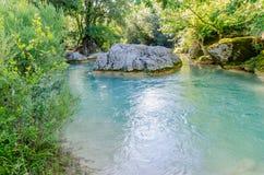 Sillans-la-Cascade in Provence, France Stock Image