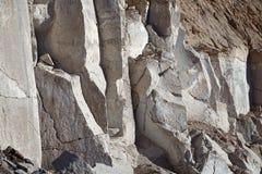 Sillar stone quarry in Arequipa Peru. Stock Image