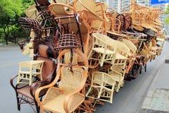 sillas Imagen de archivo libre de regalías