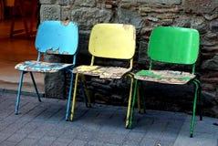 Sillas de Colores Stockfotografie