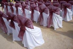 Sillas de la boda Imagen de archivo
