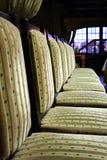 Sillas de la cena Imagen de archivo libre de regalías