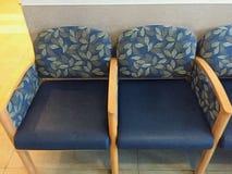 Sillas de la sala de espera Fotografía de archivo
