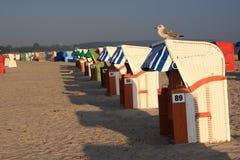 Sillas de playa Fotografía de archivo libre de regalías