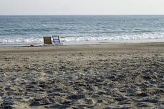 sillas de playa Imagen de archivo