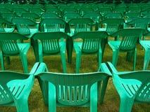 sillas del aire abierto imagen de archivo