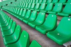 Sillas del estadio Foto de archivo libre de regalías