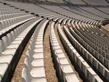 Sillas del estadio de fútbol Fotografía de archivo