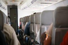 Sillas en aeroplano Fotografía de archivo