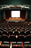 Sillas en auditorio imagen de archivo