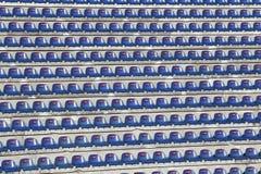 Sillas en estadio Fotografía de archivo libre de regalías