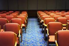 Sillas en la sala de conferencias Imagen de archivo