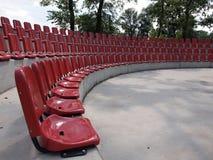 Sillas rojas Imagen de archivo