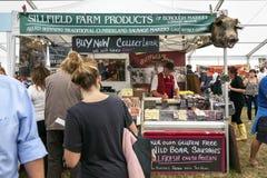 Sillfield-landwirtschaftliche Produkte Lizenzfreie Stockfotos
