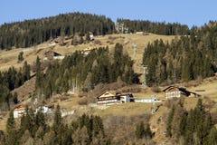 Sillian - Áustria Fotografia de Stock