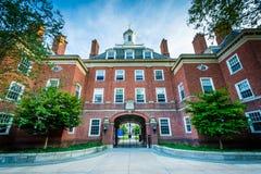 Silliman学院,耶鲁大学的,在纽黑文,康涅狄格 库存图片