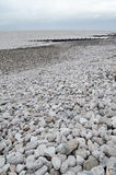 Silloth plaża, Cumbria Zdjęcia Royalty Free