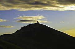 Sillouette Стоковая Фотография RF