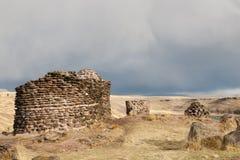 Sillustani Burial Ground - Peru. Sillustani Burial Ground in Peru Stock Image