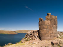 Sillustani Funeral Towers Stock Images