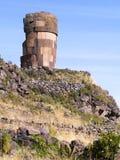 Sillustani, Puno, Peru Royalty Free Stock Photography