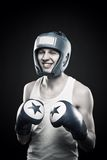 Silly boxer Royalty Free Stock Photo