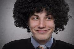 Silly boy Stock Photo