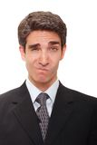 Silly businessman Stock Images
