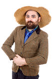 Silly casual man Royalty Free Stock Image