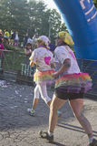 Silly Color Run Royalty Free Stock Photography