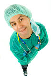 Silly doctor Royalty Free Stock Image