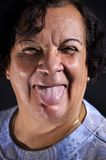 Silly face Royalty Free Stock Image