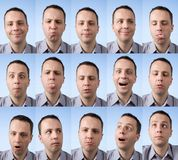 Silly Faces Royalty Free Stock Images