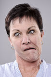 Silly funny face Royalty Free Stock Photography
