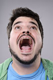 Silly funny face Stock Photography