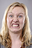 Silly funny face Royalty Free Stock Image