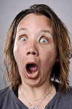 Silly funny face Stock Image