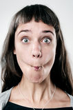 Silly funny face Royalty Free Stock Photos