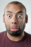 Silly funny face Stock Photos